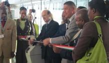 Inauguración Aeropuerto